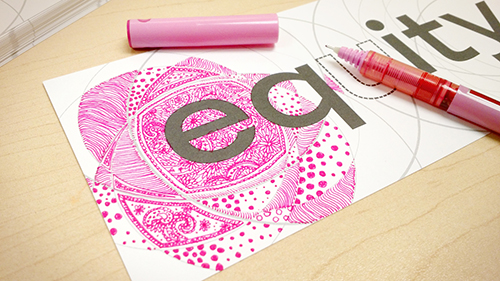 2015-16 Equity Bookmark 2 - Intersectionality - colouring